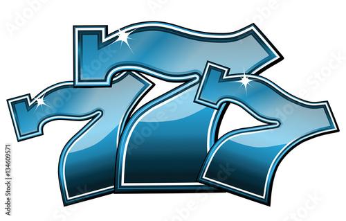 Papel de parede Lucky seven slot machine symbol