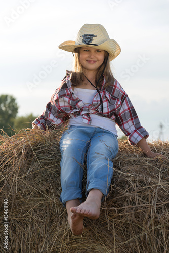 592b197fcfded Cute Child having fun outdoors