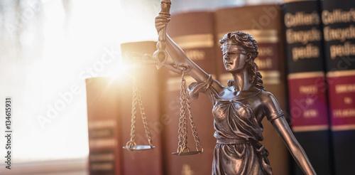Photo  Justice symbol Statue of justice