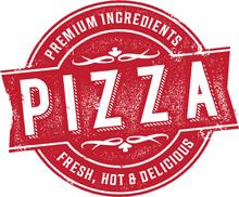 Vintage Pizza Sign