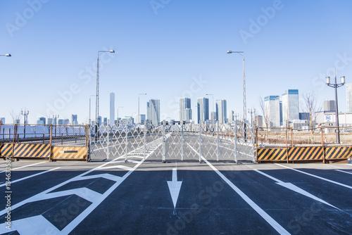 Fotografie, Obraz  開通前の豊洲大橋