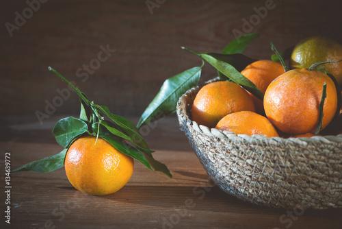 Fotografie, Obraz  Satsuma / Mandarinen