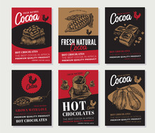 Cocoa Engraved Posters Collection