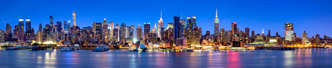 Manhattan Skyline Panorama ...