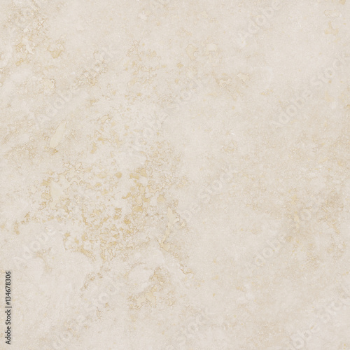Poster Beautiful beige cream marble background with natural pattern.
