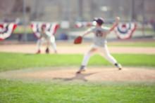 Baseball Blur Background