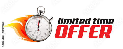 Cuadros en Lienzo Faster - business concept - time is running out