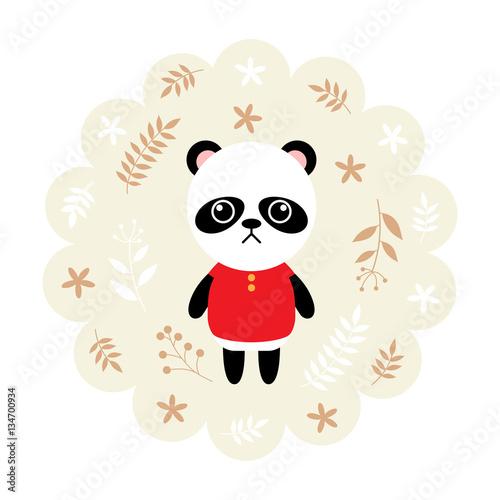panda-bear-vector-illustration