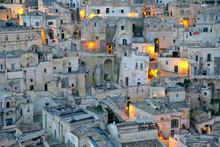 Matera, Italy, I Sassi.
