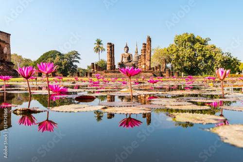 Fototapeta  Sukhothai historical park, Sukhothai, Thailand