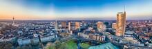 The City Skyline Of Essen Unde...