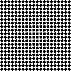 Seamless checkered pattern_Blak and white #Vector graphics