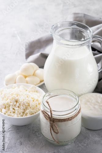 Fotobehang Zuivelproducten Dairy products
