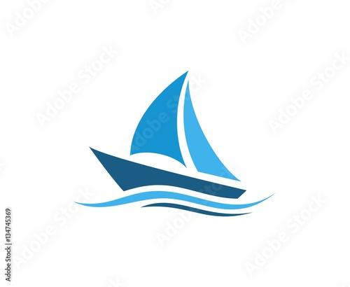 Fotografia  Sailing logo