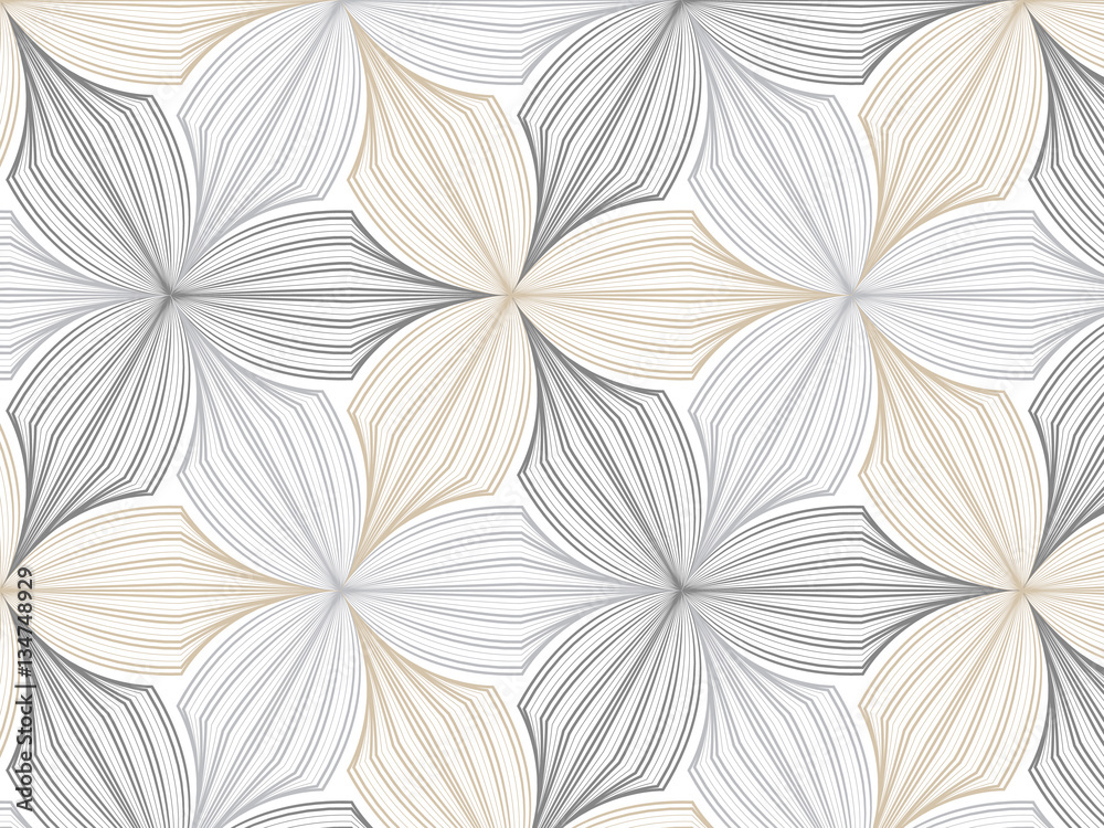 photo art print flower pattern vector repeating linear petal of