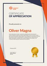 Certificate Of Appreciation Te...