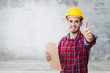 constructor with hand positive okay