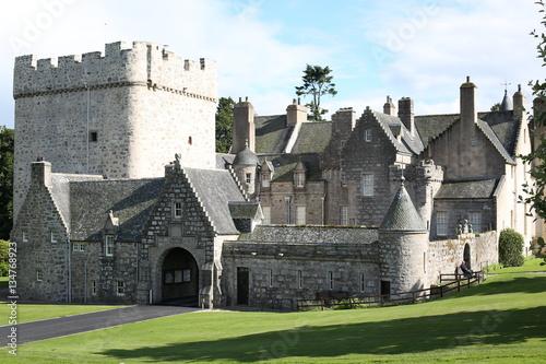 The Historic Drum Castle In Scotland Kaufen Sie Dieses