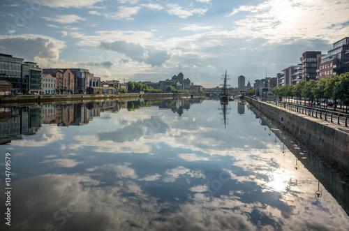 Stampe  Liffey river