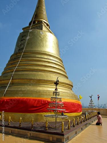 Photo  Thailand - Bangkok - Wat Saket (Golden Mount)