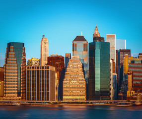 Fototapeta Nowy York New York City skyline