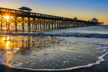 Atlantic Ocean, Scenic Sunrise...