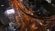 Time-lapse of Osaka city traffic flows