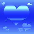 canvas print picture - Valentine Day Background