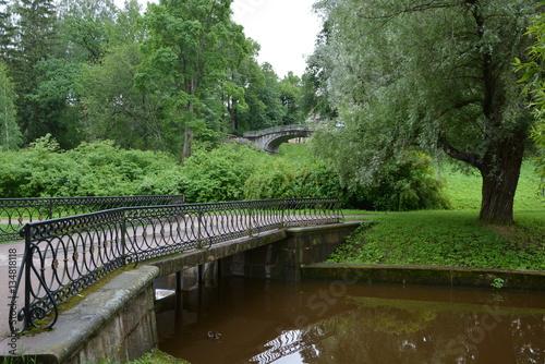Tuinposter Kanaal Канал с шоколадной водой