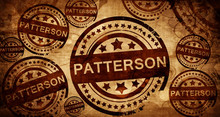 Patterson, Vintage Stamp On Pa...