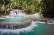 Beautiful natural pools at a waterfall
