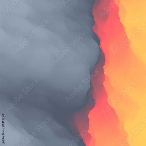 Foto op Aluminium Koraal Lava. Abstract background. Vector Illustration.