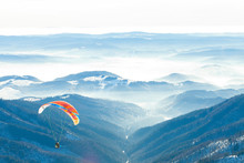 Paragliders Launched Into Air ...