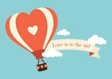 Heart Shaped Hot Air Balloon