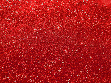 Red - Glitter Background