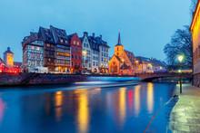Strasbourg. Quay St. Thomas.