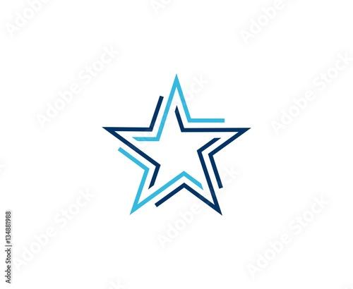 Obraz Star logo - fototapety do salonu