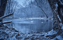 Sugar Creek In Winter