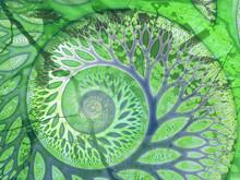 """Greenfinity"" Tree Fractal"