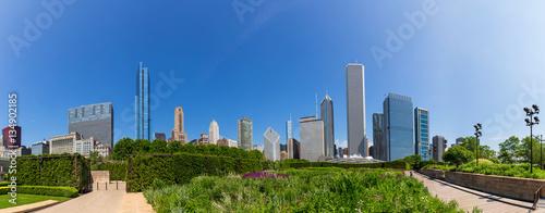 Poster Chicago Millenium park