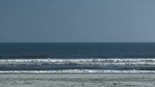Calm Winds And Seas On South Carolina Beach