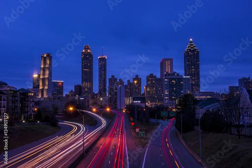 Plakat Atlanta skyline