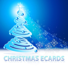 Christmas Ecards Shows Xmas Ca...