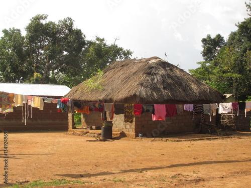 Fotografia, Obraz  African Village House