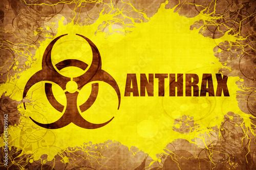Grunge vintage Anthrax Wallpaper Mural