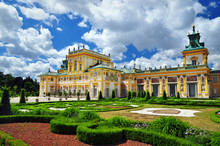 Wilanow Historical Building In Warsaw Castle