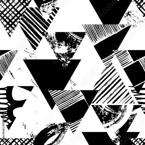 abstrakcyjny-wzor-geometryczny-wzor-z-trojkatow