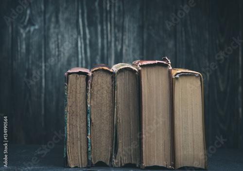 Papiers peints Retro Vintage books