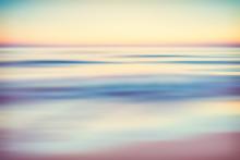 Abstract Blurred Ocean Seascap...