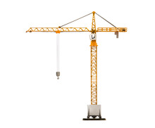 Scale Model Of Tower Crane Iso...